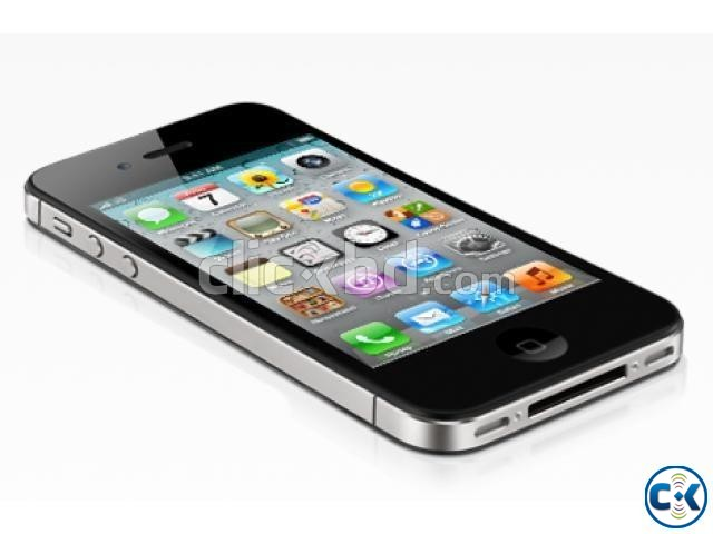 Apple iPhone 4S Black New Original | ClickBD large image 0