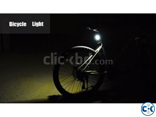 High Power 3W COB Light Bike Distant and Rear Light | ClickBD large image 0