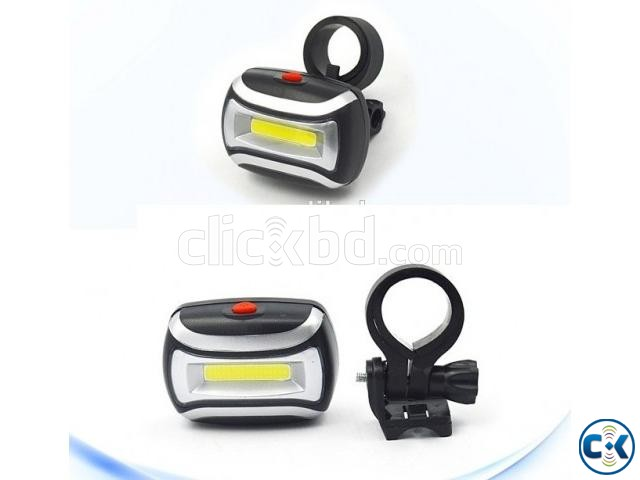 High Power 3W COB Light Bike Distant and Rear Light | ClickBD large image 1