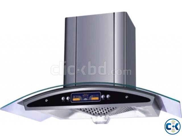 New Miyako Auto Clean Chimney Kitchen Hood | ClickBD large image 0