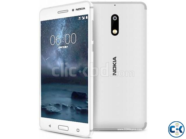Brand New NOKIA 6 64GB Sealed Pack 1 Yr Warranty | ClickBD large image 0