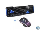 Havit Gameing Mouse and Multimedia Gaming Keyboard Combo