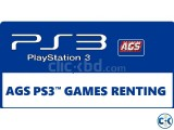 PS3 Game Renting Membership Rules Policies BY AGS