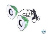 Apple Shaped Green 2-CH Mini Sparkling Speaker Price 700 t