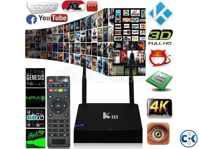 LED LCD ANDROID BOX 3D 4K NEW FOR TV | ClickBD large image 1