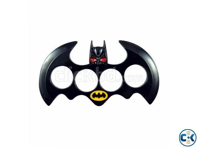 Batman Brass Knuckle Dusters - Black | ClickBD large image 0
