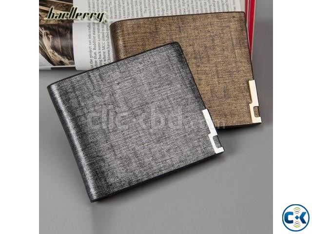 Casual Cowhide Men s Wallet. | ClickBD large image 0