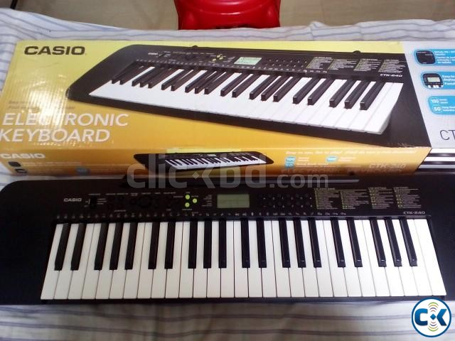 New Casio CTK-245 Intact  | ClickBD large image 1