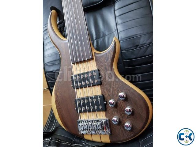 Guson 6 strings fretless bass | ClickBD large image 0