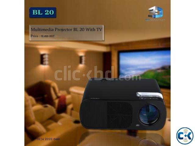 Multimedia Projector BL20 | ClickBD large image 0