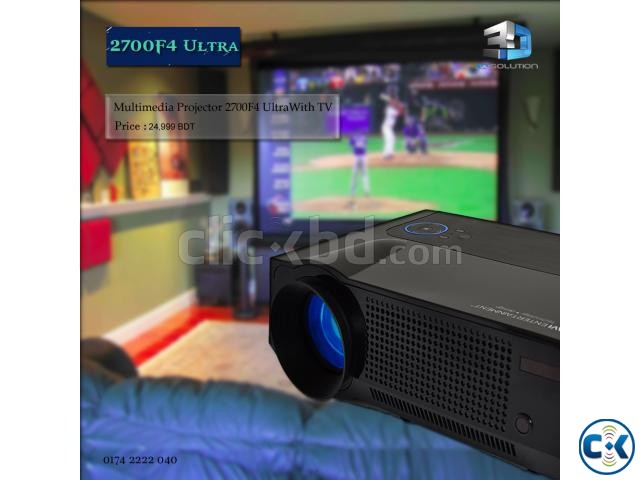 Multimedia Projector 2700F4 | ClickBD large image 0
