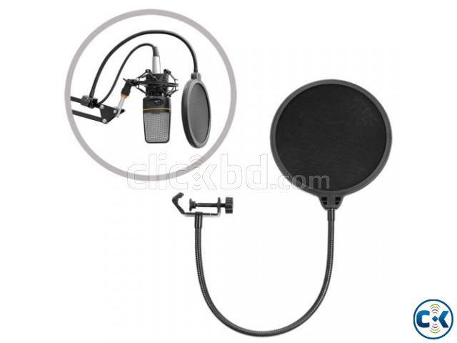 Recording Studio Microphone Mic Wind Screen Pop Filter Mask | ClickBD large image 0