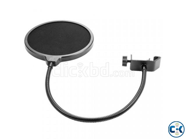Recording Studio Microphone Mic Wind Screen Pop Filter Mask | ClickBD large image 1