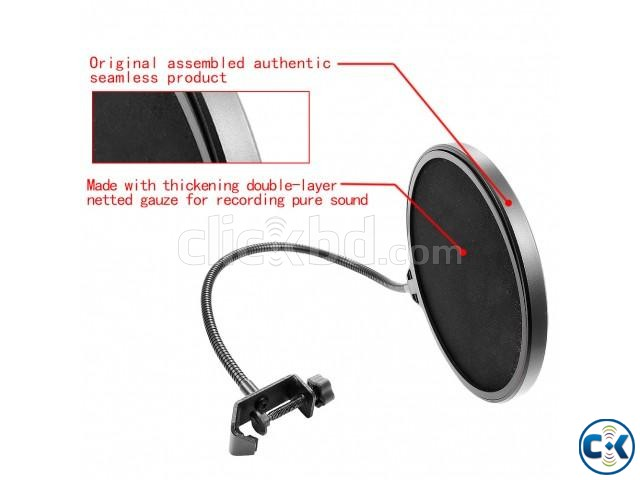 Recording Studio Microphone Mic Wind Screen Pop Filter Mask | ClickBD large image 3