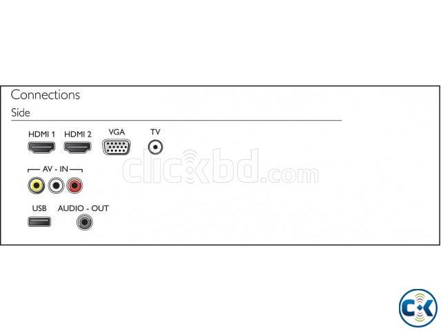 32 PHA4100 Philips Basics LED TV vga | ClickBD large image 3