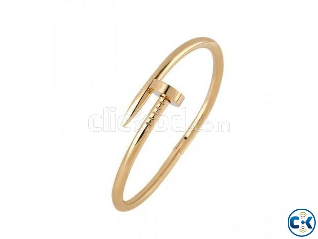 Anvi Jewellers Nickel 23K White Gold Bracelet | ClickBD large image 0