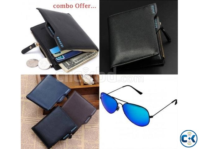 BOGESI WALLET SUNGLASS COMBO | ClickBD large image 0