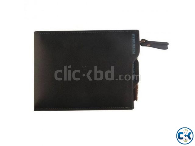 Cowhide Male Wallet Long Design 017 | ClickBD large image 0