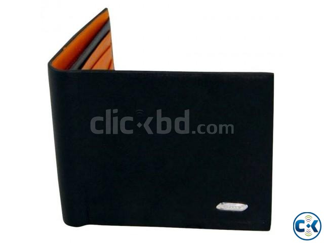 Cowhide Male Wallet Long Design | ClickBD large image 0