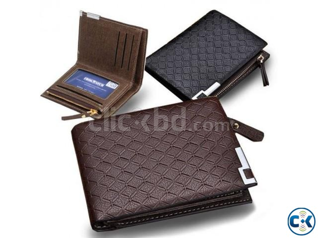 Cowhide Male Wallet Long Design 007 | ClickBD large image 0