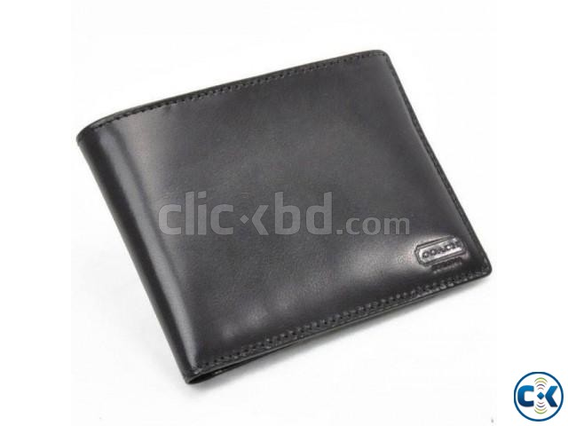 Cowhide Male Wallet Long Design 005 | ClickBD large image 0