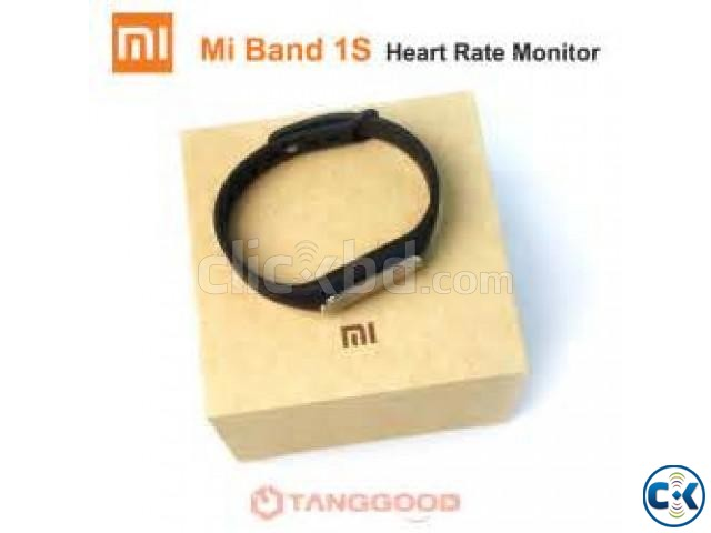 Mi 1s Heart Rate Monitor Smart Wrist Band   ClickBD large image 2
