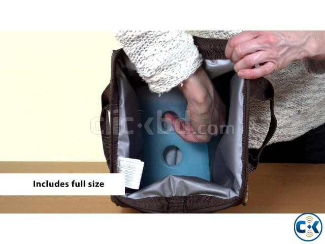 Insulated Lunch Box Carrier Bag for School Office Picnic | ClickBD large image 3