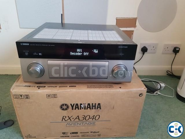 Yamaha RX-A3040 WiFi AV Receiver. | ClickBD large image 0