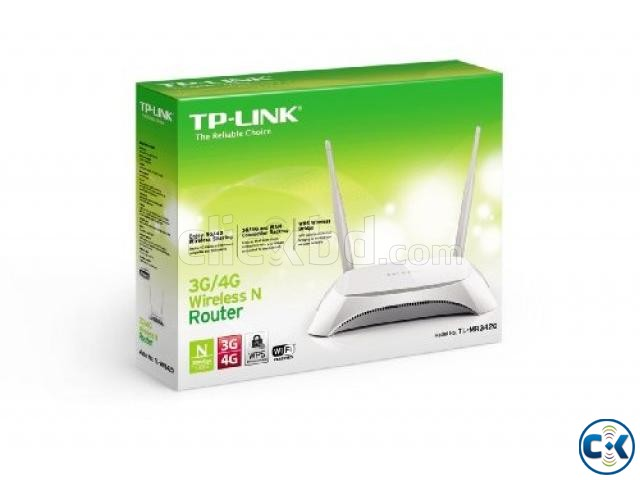 TP-Link TL-MR3420 300Mbps 3G Wireless Router | ClickBD large image 0