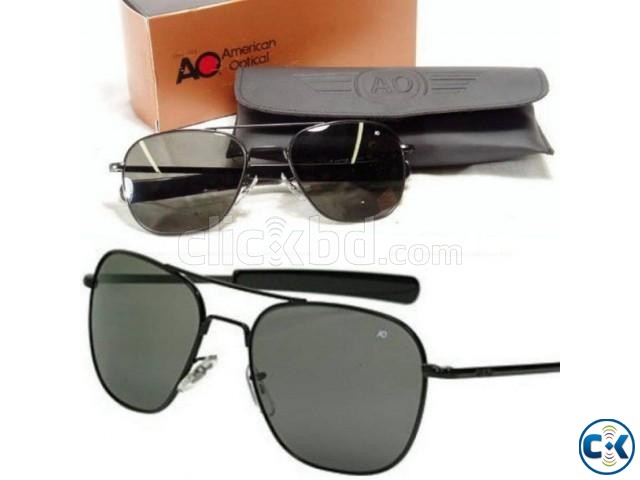 AO Black Sunglasses -Gs-72 Wholesale Offer | ClickBD large image 0