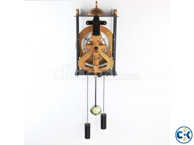 Bird Cage Model Gear Creative Pendulum Pendant Clock Wall | ClickBD large image 3