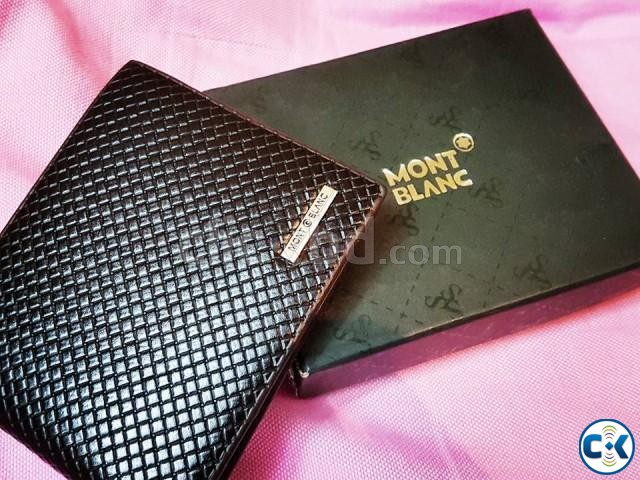 MONTBLANC authentic italian wallet or money bag for men | ClickBD large image 2