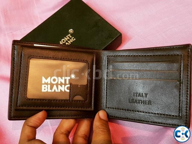 MONTBLANC authentic italian wallet or money bag for men | ClickBD large image 3