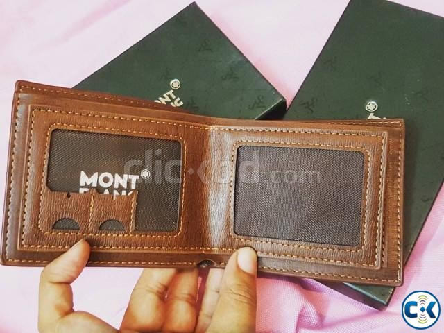 MONTBLANC authentic italian wallet or money bag for men | ClickBD large image 4