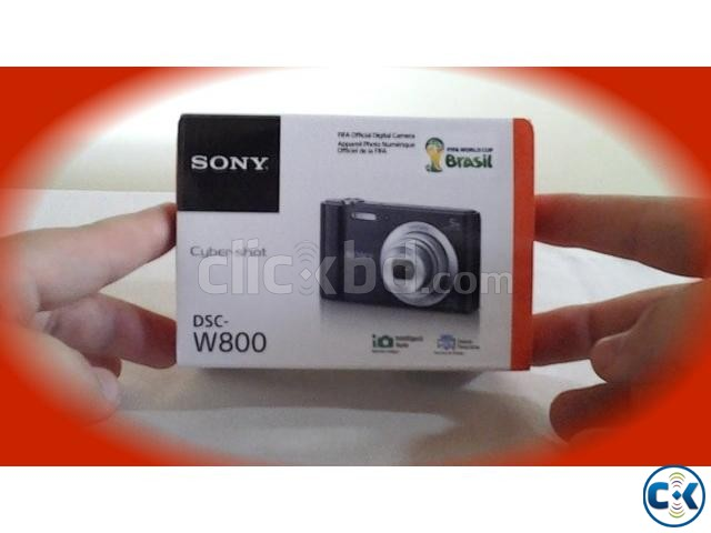 Sony DSC-W800 Point and Shoot 20.1 MP Digital Still Camera | ClickBD large image 0