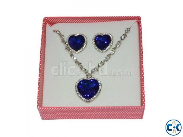 Heart Shape Jewellery Set. | ClickBD large image 0