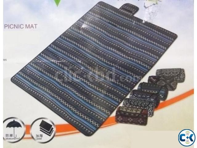 Portable Folding Waterproof Picnic Mat Camping Beach | ClickBD large image 3