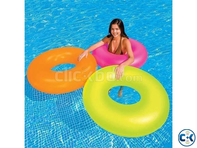 Inflatable Swimming Tube Pumper | ClickBD large image 0