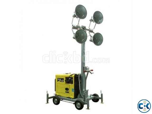 Lighting Tower Generator Tower Light | ClickBD large image 1