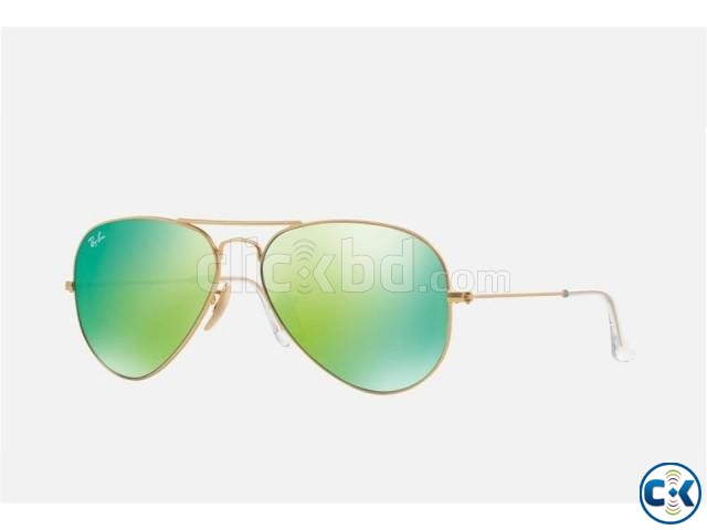 RAY BAN AVIATOR GREENISH UV PROTECTION COLOR REPLICA | ClickBD large image 0