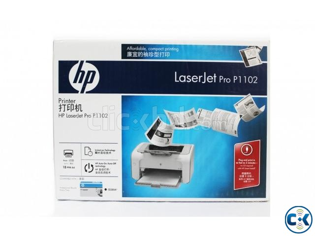 HP Laserjet Professional P1102 Printer | ClickBD large image 0