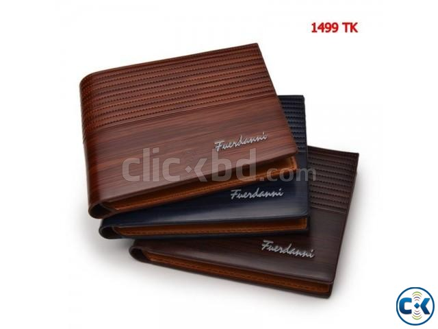 Fuesdanni Men s Leather Wallet. 3 | ClickBD large image 0