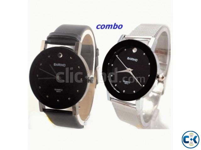 Combo Bariho Stainless Watch for Nice Couple. | ClickBD large image 0