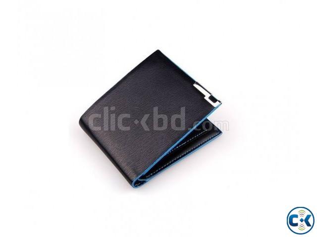 Bata Leather Trendy Bifold Wallet for Men - Black | ClickBD large image 0
