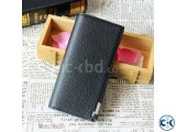 Bata Leather Trendy Bifold Wallet for Men - Black
