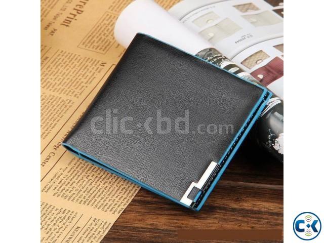 Bogesi Premium Bifold Leather Men s Wallet copy | ClickBD large image 0