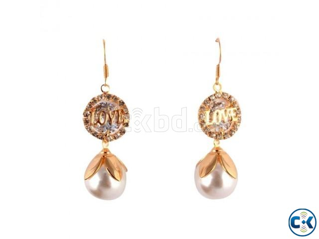 Love Earrings for Women  | ClickBD large image 0