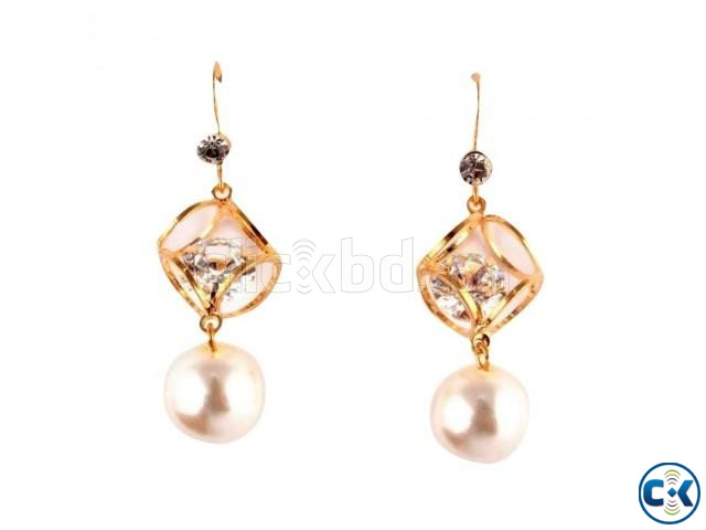 Women s Ear Ring - Gold | ClickBD large image 0