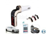 CAR G7 Bluetooth FM Transmitter MP3 Music Player