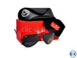 Ray.Ban Aviator Black Sunglasses for Men